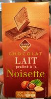 Chocolat au Lait Praliné et Noisettes - Product - fr