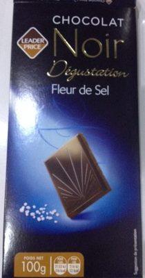 Chocolat noir dégustation fleur de sel - Product