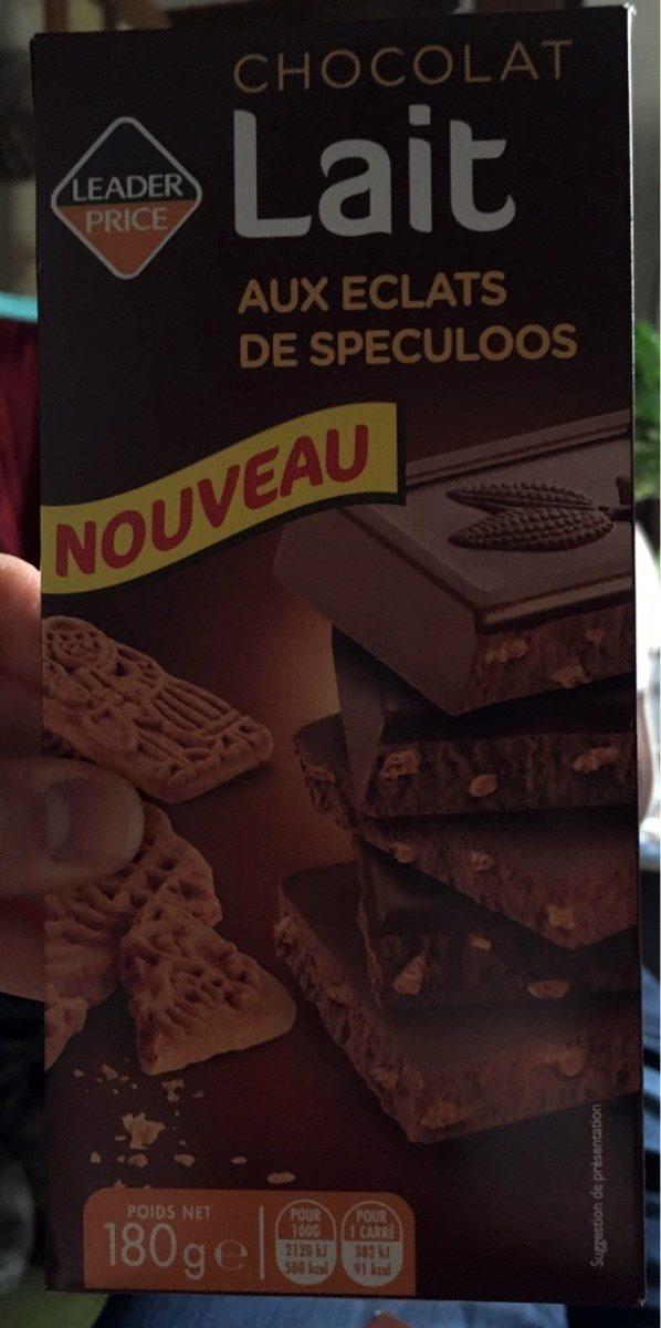 Chocolat au Lait aux Éclats de Speculoos - Product - fr