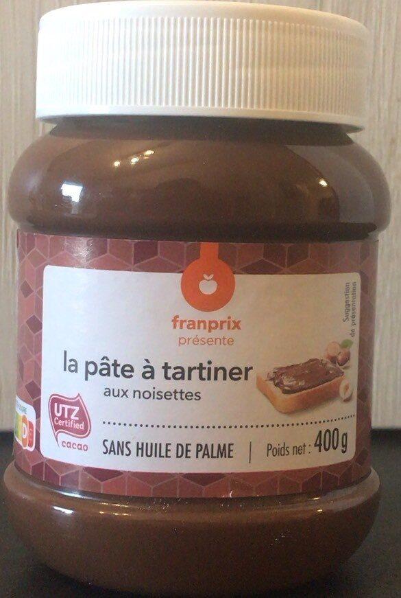 La pâte à tartiner - Prodotto - fr