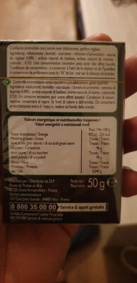 Bonbons goût réglisse sans sucres - Product