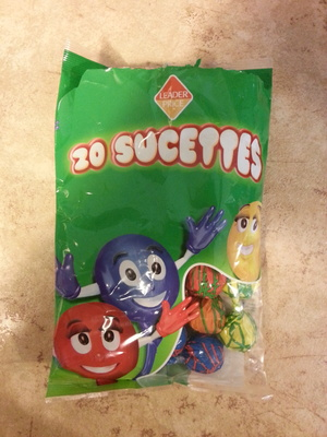 20 sucettes - Product