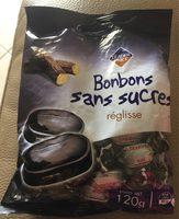 Bonbons Sans Sucres Réglisse 120 g - Produit