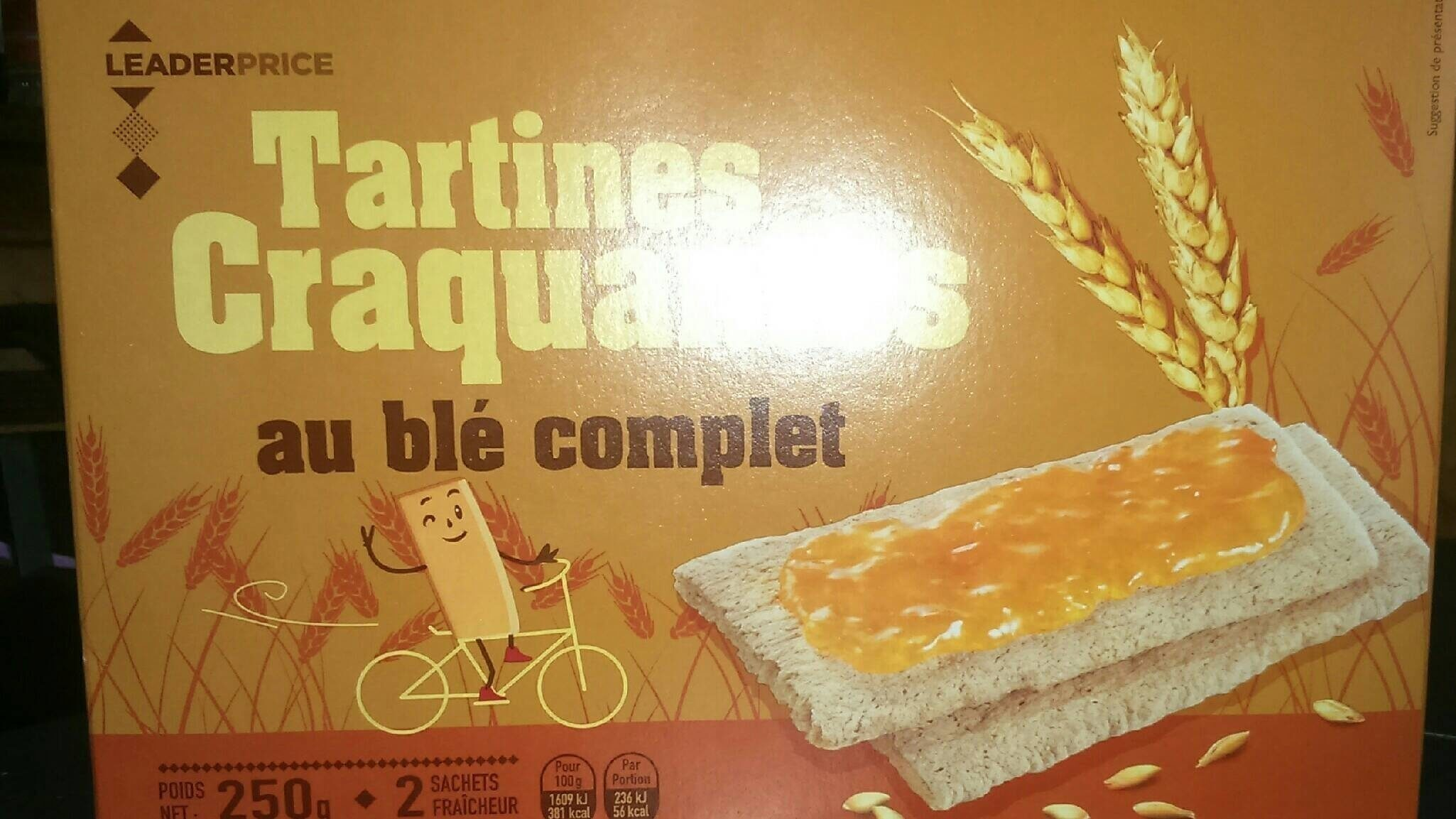Tartine croquantes au blé complet - Produit - fr