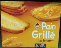 Pain grillé au froment - Produit - fr