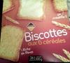 Biscottes aux six céréales - Produit