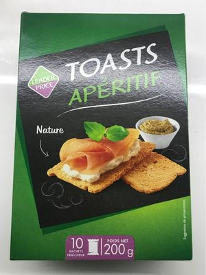 Toasts apetitif - Product - fr