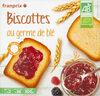 biscotte germe de ble bio - Product