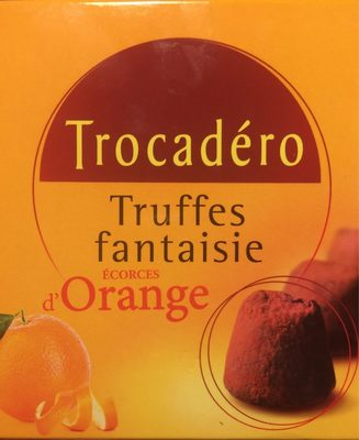 Truffes ecorces d'orange - Product - fr