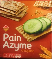 Pain azyme craquant - Product - fr