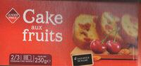 Cake aux fruits - Produit - fr
