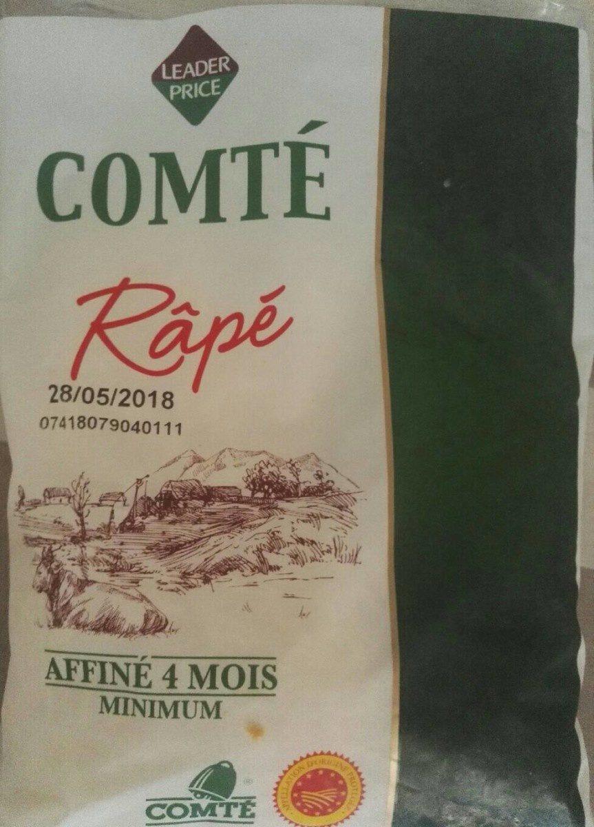 Comté râpé - Produit - fr