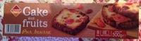 Cake aux fruits pur beurre - Produit - fr