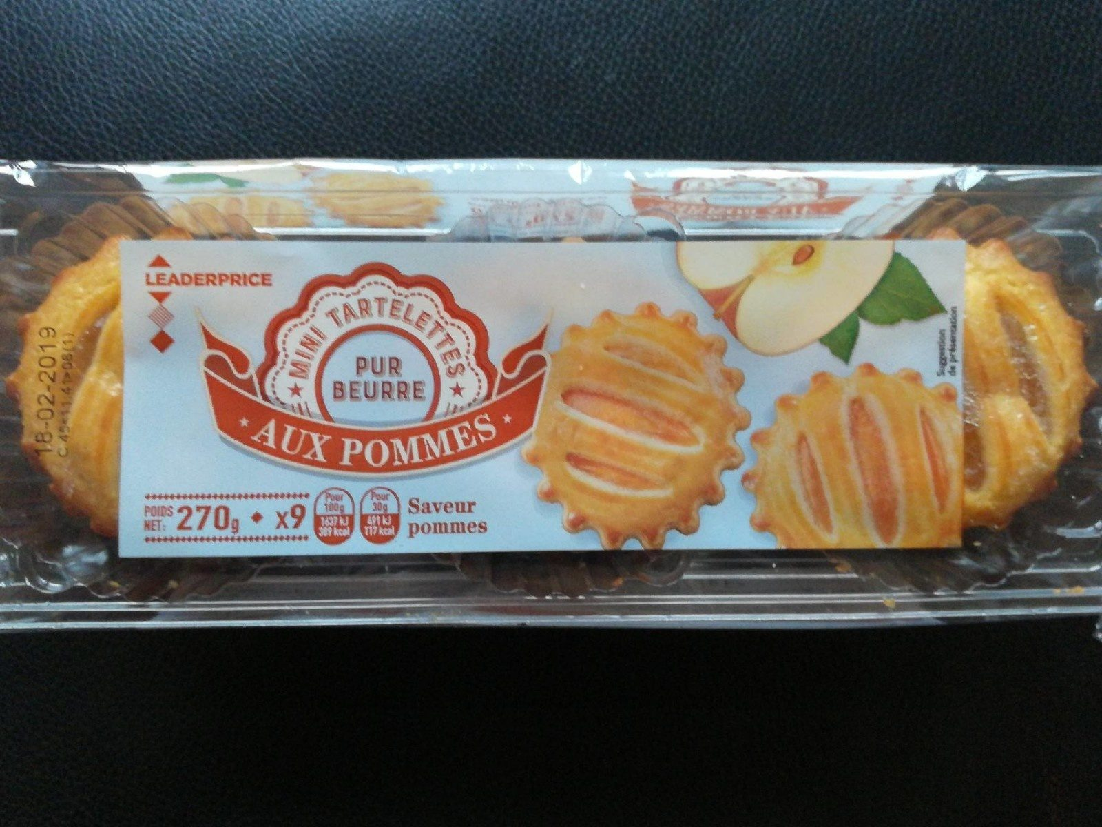 Mini tartelettes aux pommes - Product - fr