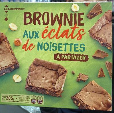 Brownie aux éclats de noisette - Produit - fr