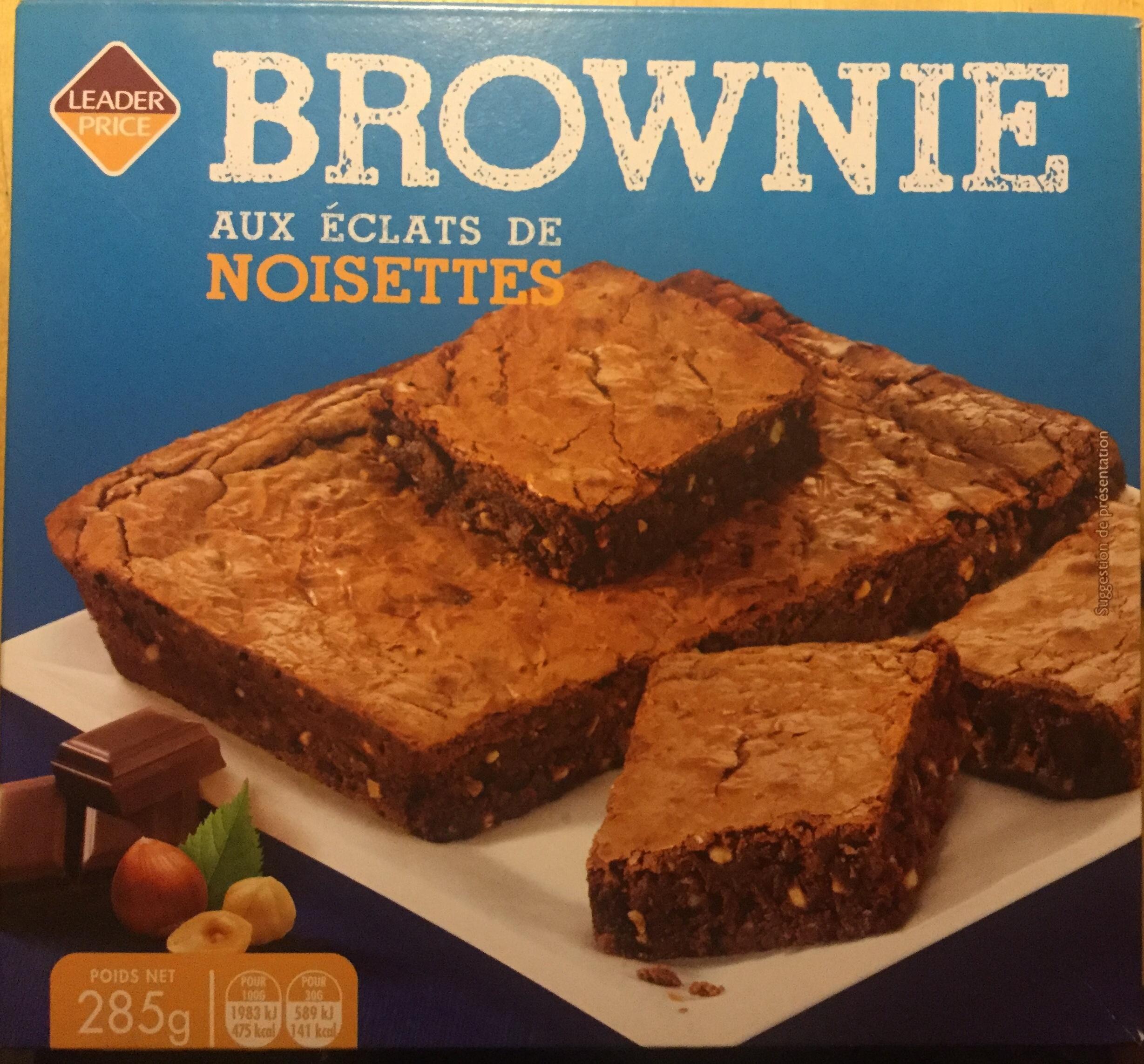 Brownie aux éclats de noisettes - Produit