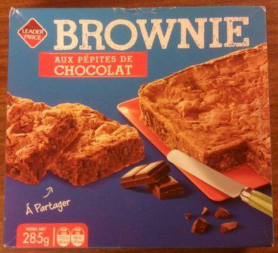 Brownie aux pépites de chocolat - Producto - fr
