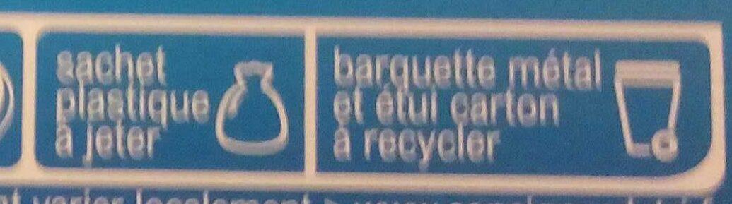 Brownie aux pépites de chocolat - Istruzioni per il riciclaggio e/o informazioni sull'imballaggio - fr