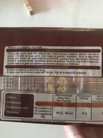 Madeleines Longues Marbrées au Chocolat - Ingrédients - fr