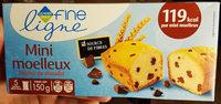 Fine Ligne Mini-moelleux Pépites De Chocolat 5 Sachets - Product - fr