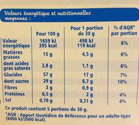 Fine Ligne Mini-moelleux Pépites De Chocolat 5 Sachets - Voedingswaarden - fr