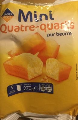 Mini quatre-quarts pur beurre - Product