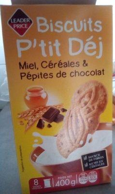 Biscuits P'tit Déj - Product - fr