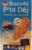 Biscuits P'tit Déj aux pépites de chocolat - Product
