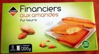 Financiers aux amandes pur beurre - Produit
