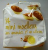 14 mini moelleux aux amandes et au citron - Produit