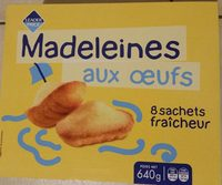 Madeleines aux Oeufs - Product - fr