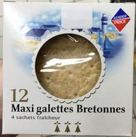 12 Maxi galettes bretonnes - Product - fr