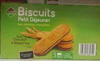 Biscuits petit déjeuner aux céréales complètes - Produit