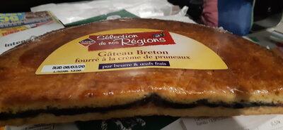 Gâteau Breton Fourré à la Crème de Pruneaux - Product