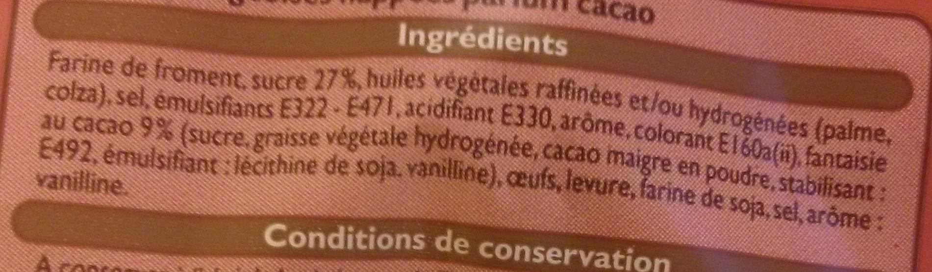 5 gaufres liégeoises - Ingrédients
