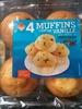 Muffins parfum Vanille aux pépites de chocolat - Product