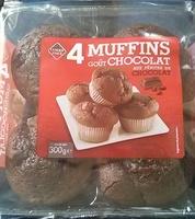 Muffins goût Chocolat aux pépites de chocolat - Produit