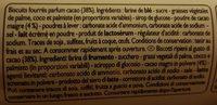 Biscuits Fourrés Goût Chocolat - Ingrediënten - fr