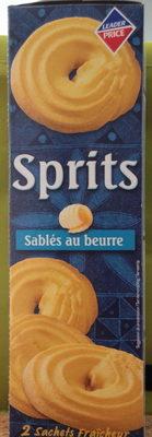 Sprits - Sablés au beurre - Prodotto - fr