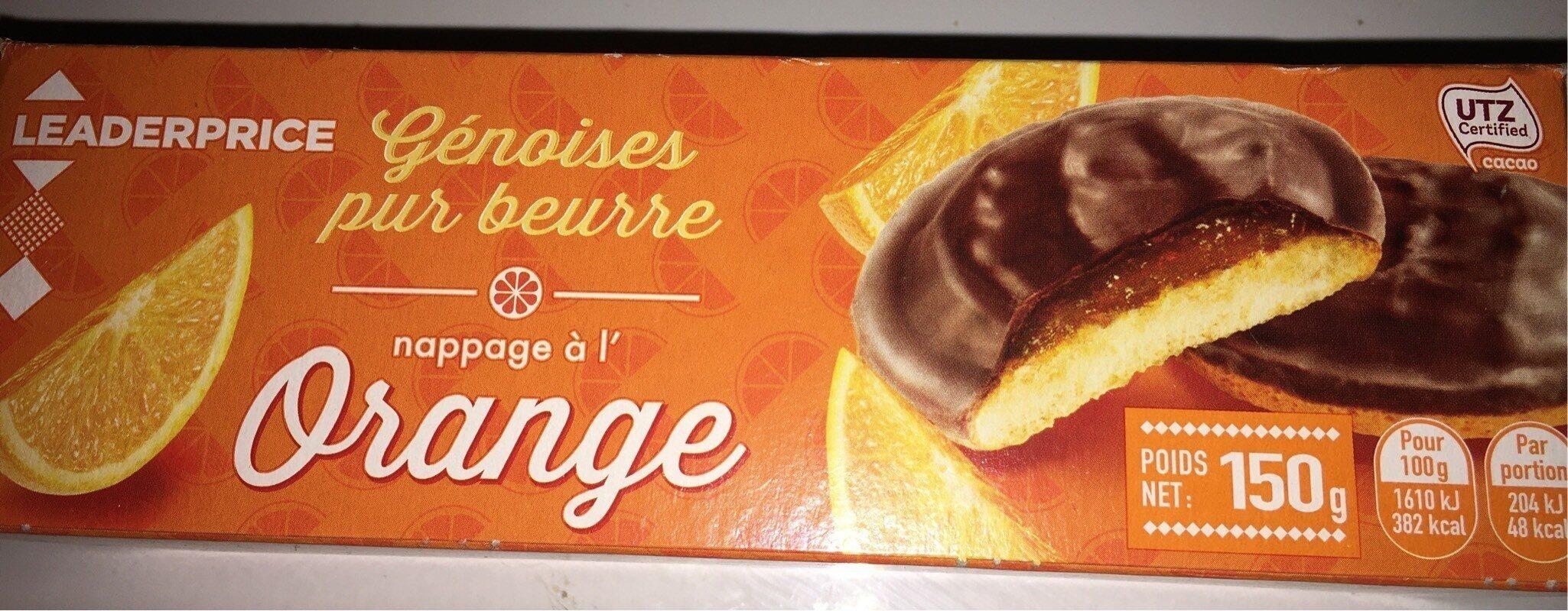 Genoise pur beurre orange - Product - fr