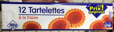12 Tartelettes à la fraise - Produit - fr