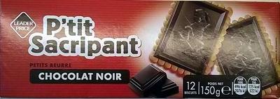 P'tit Sacripant Petits Beurre Chocolat Noir - Product