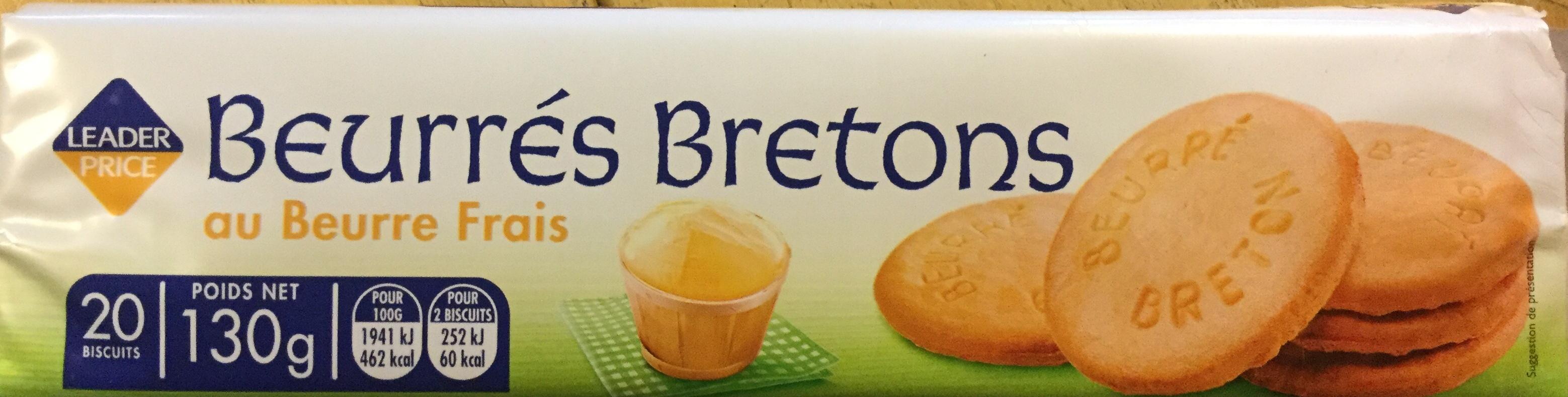 Beurrés Bretons - Produit - fr