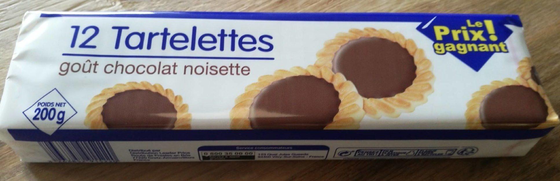 12 Tartelettes Goût Chocolat Noisettes - Product - fr