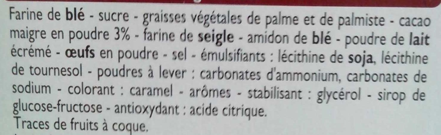 Fête Foraine - Ingredients