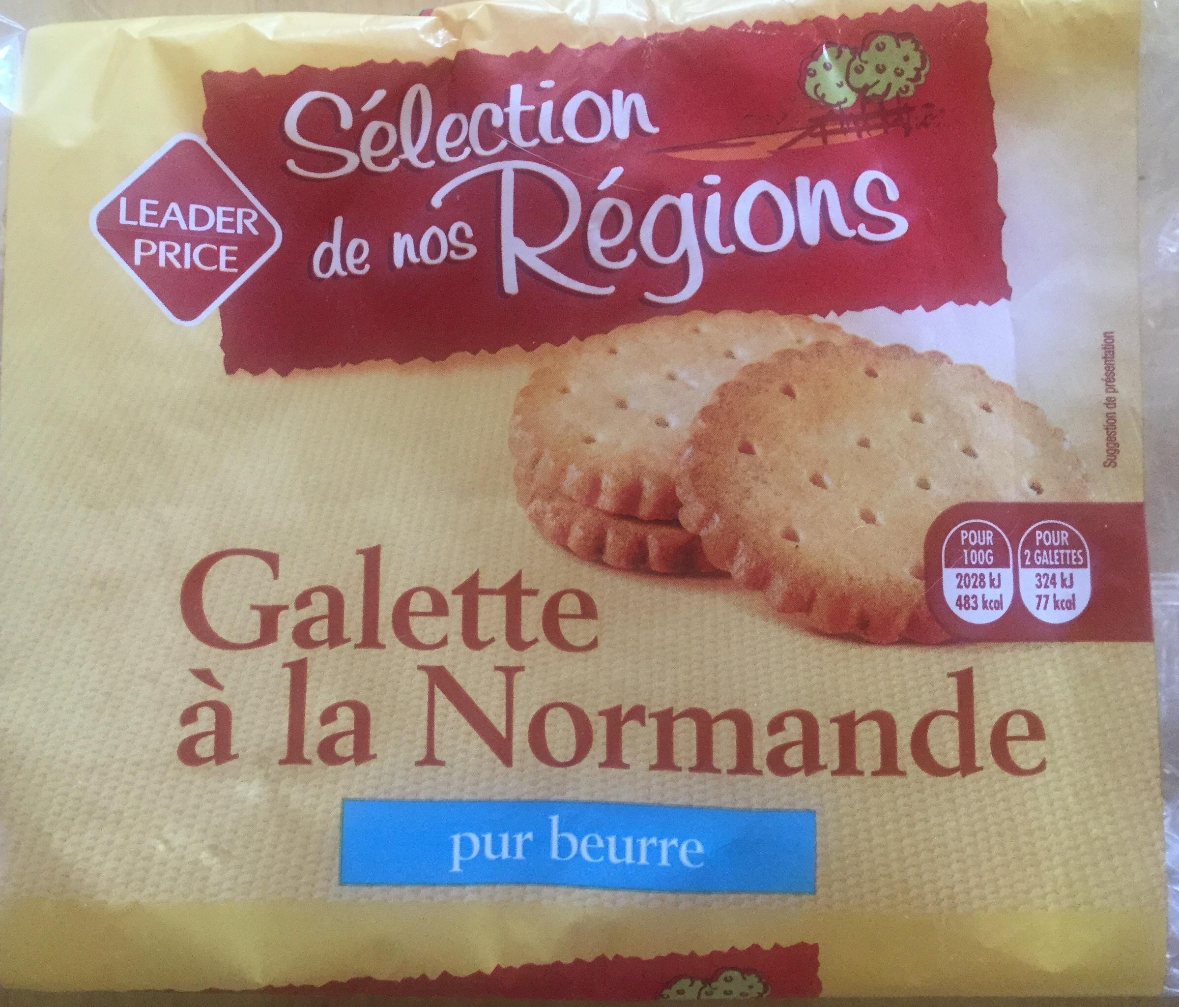 Galette à la Normande Pur Beurre - Produit