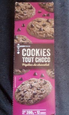 Cookies tous Choco pepite de chocolat - Produit