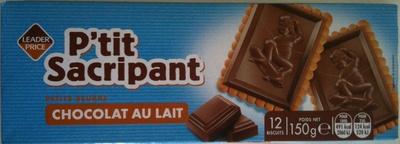 P'tit Sacripant Petits Beurre Chocolat au Lait - Produit - fr
