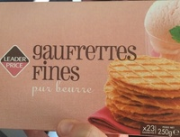 Gaufrettes fines - Product