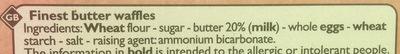 Gaufrettes fines - Ingredients